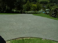 These two photo's are of a exposed pebble, we uplifted the old driveway and replaced with this great look.