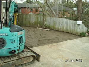 concrete Auckland digger and concrete dig out works